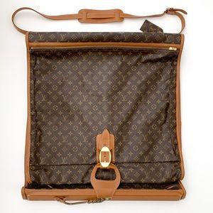 Louis Vuitton Monogram Brown Cowhide Garment Bag